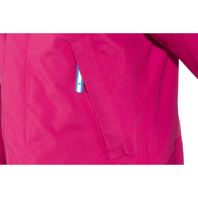 Bergans Knatten Veste Enfant, hot pink/cerise/light winter sky